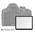 LCD Optical Glass Screen Protector for Nikon D600