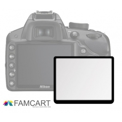 LCD Optical Glass Screen Protector for Nikon D700