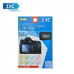 JJC GSP-70D Tempered Toughened Optical Glass Camera Screen Protector 9H Hardness For Canon 70D