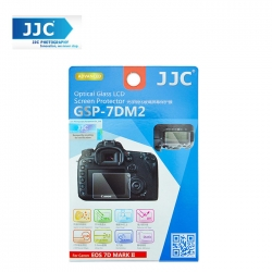 JJC GSP-7DM2 Tempered Optical Glass Camera Screen Protector 9H Hardness For Canon EOS 7D Mark II