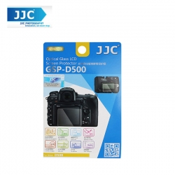 JJC GSP-D500 Tempered Optical Glass Camera Screen Protector For Nikon D500 DSLR