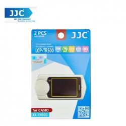 JJC LCP-TR500 LCD Guard Film Camera Screen Protector for Casio EX-TR500