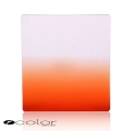 P-Colour Graduated Orange Square Filter Set (Similar to Cokin P-series Filter)