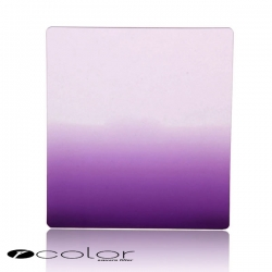 P-Colour Graduated Purple Square Filter Set (Similar to Cokin P-series Filter)