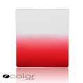 P-Colour Graduated Red Square Filter Set (Similar to Cokin P-series Filter)