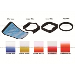 P-Color Colourful  Square Filter Set (Similar to Cokin P-series Filter)