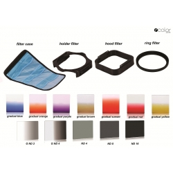 P-Color Pro Square Filter Set (Similar to Cokin P-series Filter)