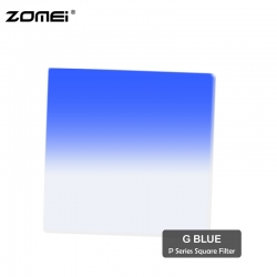 Zomei G Blue Graduated Blue Color Square Filter (Fit for Cokin Holder)