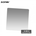 Zomei G ND2 Graduated Neutral Density Square Filter (Fit for Cokin Holder)