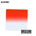 Zomei G Red Graduated Red Color Square Filter (Fit for Cokin Holder)