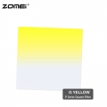 Zomei G Yellow Graduated Yellow Color Square Filter (Fit for Cokin Holder)
