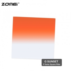 Zomei G Sunset Graduated Sunset Color Square Filter (Fit for Cokin Holder)