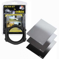 Cokin H250A ND Graduated Filter Kit P Series, with Filter Holder & Graduated ND Filters #121L, 121M, 121S