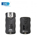 JJC JF-G1P 2.4GHz Wireless Flash Trigger with Shutter Strobris Flash Cable for Nikon Canon DSLR Camera