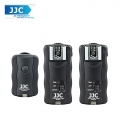 JJC JF-U2 433MHz Wireless Flash Trigger Set with Shutter Strobris For Canon Nikon DSLR Camera (2 receiver)