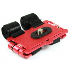 Proocam Camera Bracket/Holder on Motor Bicycle/Bike for Small DSLR Camera&Flash (Red)