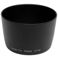 Lens Hood ET-60 for Canon EF 75-300mm III, Canon EF 90-300mm, Canon EF 55-250mm IS (3rd party)