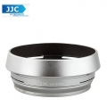 JJC LH-JX100 Metal Lens Hood Adapter Ring for Fujifilm X100 X100S X100T (Silver)