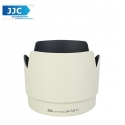 JJC LH-74(W)T White Lens Hood for Canon EF 70-200mm f/4L IS USM Camera Lens ( ET-74 )