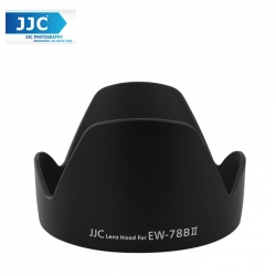 JJC LH-78BII Lens Hood for Canon EF 28-135mm f/3.5-5.6 IS USM Camera Lens (EW-78B)