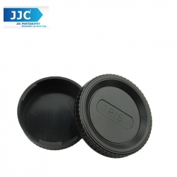 JJC L-R4 Body and Rear Lens Cap for Pentax K Mount Lens/Camera