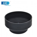 JJC LS-55S 55mm Stage Collapsible Silicone Standard Lens Hood for Camera
