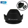JJC LS-49 (49mm) Universal flower Screw-in Lens Hood for Standard Zoom Lens (Reverse Mount Possible)