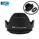 JJC LS-52 (52mm) Universal flower Screw-in Lens Hood for Standard Zoom Lens (Reverse Mount Possible)