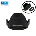 JJC LS-62 (62mm) Universal flower Screw-in Lens Hood for Standard Zoom Lens (Reverse Mount Possible)