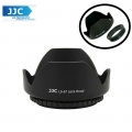 JJC LS-67 (67mm) Universal flower Screw-in Lens Hood for Standard Zoom Lens (Reverse Mount Possible)