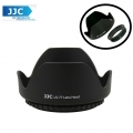 JJC LS-77 (77mm)  Universal flower Screw-in Lens Hood for Standard Zoom Lens (Reverse Mount Possible)