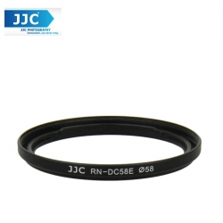 JJC RN-DC58E 58mm UV CPL Filter Thread Lens Adapter Ring For Canon PowerShot G1 X Mark II