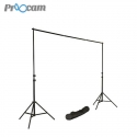 Proocam Protable Backdrop Background Stand Kit with Carry Bag Set