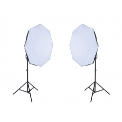Light Stand kit with 65cm OCTA Soft Box    (Set Kit)