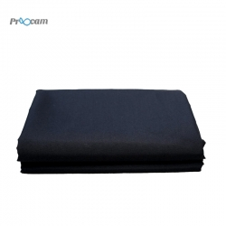 Proocam B-33B Muslin Photo Video Backdrop Background 3 X 3 meter - Black