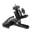 Proocam Black Clamp Clip with ballhead for Speedlight and Studio *