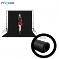 Proocam NWC-BK Non woven cloth Professioanl Backdrop background for Photographer -Black (3X6meter)