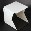 Proocam EASYGO Portable Mini Photo Light Tent with LED Light (Black and White Background) (ytp-1)