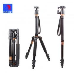 Beike Q-555 Professional Traveller's Tripod with Monopod