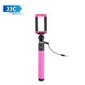 JJC SS-80MA Selfie Stick for iPhone and Android devices Mobile (Pink)