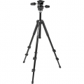 Manfrotto MK294A3 Aluminum 3-Section Tripod With 3-Way Head