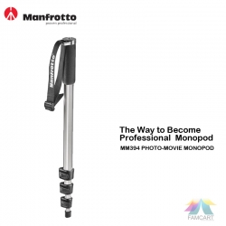 Manfrotto Mm394 Photo Movie Monopod
