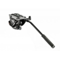 Manfrotto MVH500AH Flat Base Pro Fluid Head (Black)