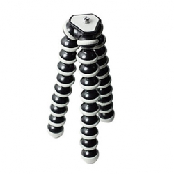 Flexible Octopus Design Large Tripod (White and Black)