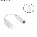 Proocam CC-IO Lightning to 3.5mm Jack Apple Iphone Handphones Adapter iOS For Lighting Plug Play Music Audio Earphone USB Cable For IOS upgrade version
