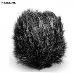 PROOCAM MF-11 Small Outdoor Microphone Furry mic Windscreen Muff for SHENGGU SG-107 ,SG109