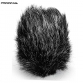 PROOCAM MF-16 Medium Outdoor Microphone Furry mic Windscreen Muff for SHENGGU SG-108 , JJC Mic-1