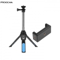 PROOCAM MP-22 muilti monopod mobile tripod with bluetooth remote control monopod selfie stick