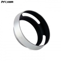 PROOCAM 37mm-58mm Metal Lens Hood Shade for Leica Nikon canon Fujifilm Olympus Lens Silver(MLH)