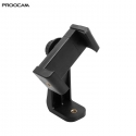 Proocam 6i Mobile Holder portrait and landscape for tripod monopod seflie stick